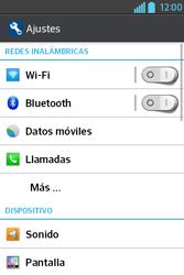 Configura el WiFi - LG L4 II - Passo 4