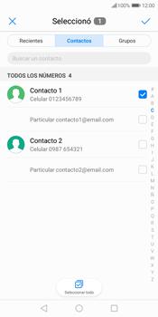 Envía fotos, videos y audio por mensaje de texto - Huawei Y7 (2018) - Passo 5