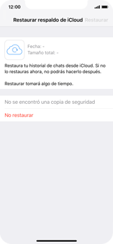 Configuración de Whatsapp - Apple iPhone XS - Passo 11