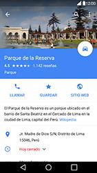Uso de la navegación GPS - LG G5 - Passo 10