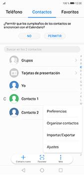 ¿Tu equipo puede copiar contactos a la SIM card? - Huawei P20 Pro - Passo 4