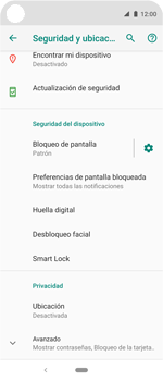 Desbloqueo del equipo por medio del patrón - Motorola One Vision (Single SIM) - Passo 12