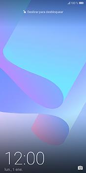 Bloqueo de la pantalla - Huawei Y6 2018 - Passo 5