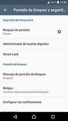 Desbloqueo del equipo por medio del patrón - Sony Xperia XZ Premium - Passo 13