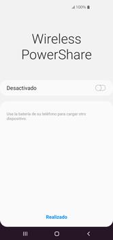 Cómo usar la función Power Share - Samsung S10+ - Passo 4