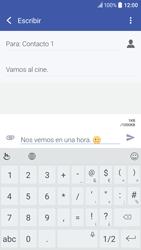Envía fotos, videos y audio por mensaje de texto - HTC 10 - Passo 12