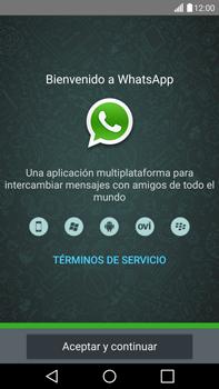 Configuración de Whatsapp - LG G4 - Passo 4