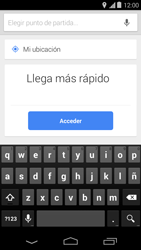 Uso de la navegación GPS - Motorola Moto E (1st Gen) (Kitkat) - Passo 16