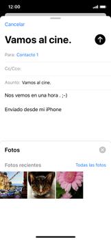 Cómo enviar un correo electrónico - Apple iPhone XS - Passo 11