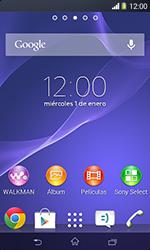Realiza una copia de seguridad de la memoria - Sony Xperia E1 D2005 - Passo 1