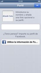 Configuración de Whatsapp - Apple iPhone 5 - Passo 8