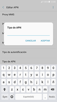 Configura el Internet - Samsung Galaxy A7 2017 - A720 - Passo 14
