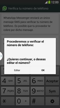 Configuración de Whatsapp - Samsung Galaxy Note Neo III - N7505 - Passo 6