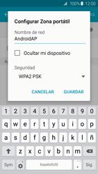 Configura el hotspot móvil - Samsung Galaxy S6 - G920 - Passo 8