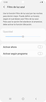 Cómo activar el modo Descanso visual para evitar la fatiga visual - Samsung Galaxy S20 - Passo 5
