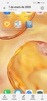Tomar una captura de pantalla - Huawei P40 Lite - Passo 9