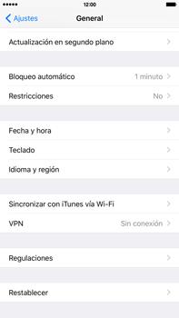 Restaura la configuración de fábrica - Apple iPhone 6 Plus - Passo 4