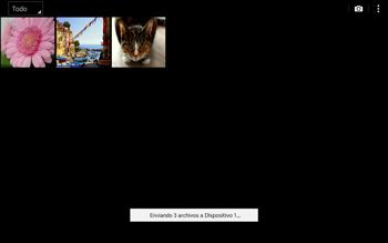 Transferir fotos vía Bluetooth - Samsung Galaxy Note Pro - Passo 11