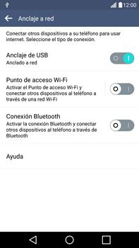 Comparte la conexión de datos con una PC - LG G4 - Passo 8