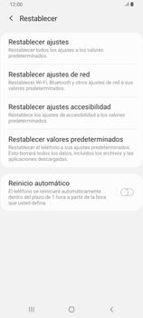 Restaura la configuración de fábrica - Samsung Galaxy A80 - Passo 6