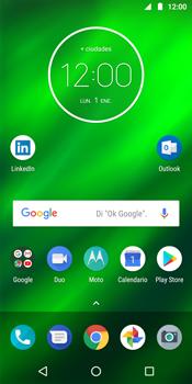 Uso de la navegación GPS - Motorola Moto G6 Plus - Passo 1