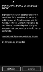 Activa el equipo - Nokia Lumia 520 - Passo 5