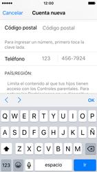Crea una cuenta - Apple iPhone SE - Passo 21