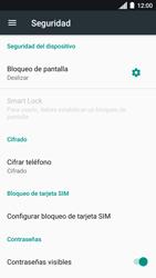 Desbloqueo del equipo por medio del patrón - Motorola Moto C - Passo 5