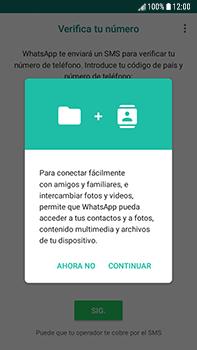 Configuración de Whatsapp - Samsung Galaxy J7 Prime - Passo 5