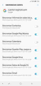 Desactivar la sincronización automática - Samsung A7 2018 - Passo 10