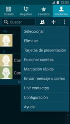 ¿Tu equipo puede copiar contactos a la SIM card? - Samsung Galaxy S5 - G900F - Passo 5