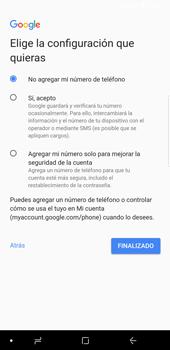 Crea una cuenta - Samsung Galaxy S9 Plus - Passo 15