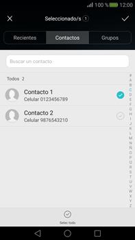 Envía fotos, videos y audio por mensaje de texto - Huawei Mate S - Passo 5