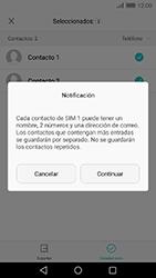 ¿Tu equipo puede copiar contactos a la SIM card? - Huawei Cam Y6 II - Passo 9
