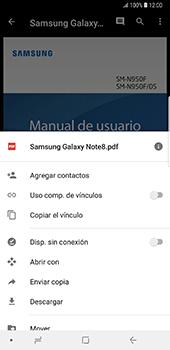 Descargar contenido de la nube - Samsung Galaxy Note 8 - Passo 10