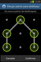 Desbloqueo del equipo por medio del patrón - Samsung Galaxy Fame GT - S6810 - Passo 11