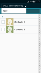 ¿Tu equipo puede copiar contactos a la SIM card? - Samsung Galaxy A3 - A300M - Passo 10