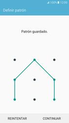 Desbloqueo del equipo por medio del patrón - Samsung Galaxy S7 - G930 - Passo 8