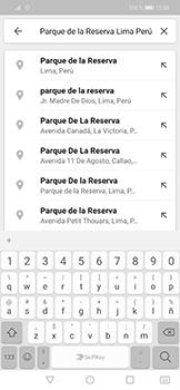 Uso de la navegación GPS - Huawei Mate 20 Lite - Passo 7