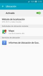 Uso de la navegación GPS - Samsung Galaxy S6 - G920 - Passo 21