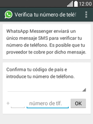 Configuración de Whatsapp - LG L20 - Passo 5