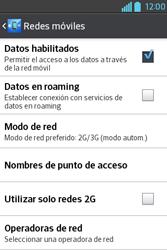 Configura el Internet - LG L4 II - Passo 8