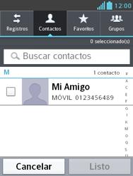 Envía fotos, videos y audio por mensaje de texto - LG Optimus L3 II - Passo 5