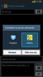 Envía fotos, videos y audio por mensaje de texto - Samsung Galaxy Zoom S4 - C105 - Passo 15