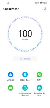 Cómo usar la función Optimizar - Huawei P40 Lite - Passo 5