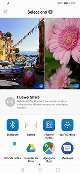 Transferir fotos vía Bluetooth - Huawei Mate 20 Lite - Passo 10
