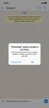Usar WhatsApp - Apple iPhone XS Max - Passo 8