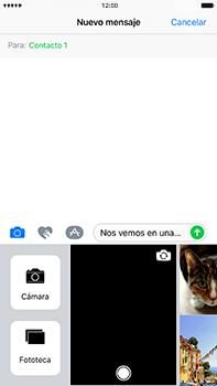 Envía fotos, videos y audio por mensaje de texto - Apple iPhone 7 Plus - Passo 10