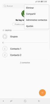 ¿Tu equipo puede copiar contactos a la SIM card? - Samsung Galaxy S9 Plus - Passo 6