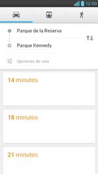 Uso de la navegación GPS - LG Optimus G Pro Lite - Passo 15